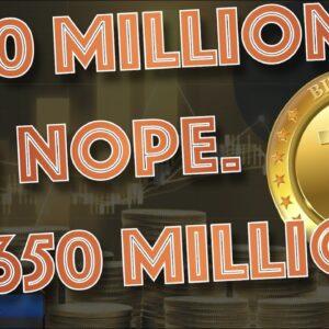 BREAKING: Microstrategy Raised ADDITIONAL 650 MILLION to Buy BITCOIN BLASTING Their 400 MILLION GOAL