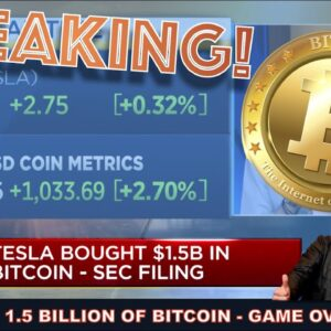 TESLA BUYS BITCOIN. YOU CAN BUY A TESLA WITH CRYPTO & WHY LARGE INSTITUTIONS WILL NOW FOMO INTO BTC