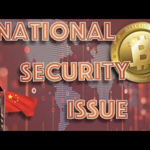 """BITCOIN Becoming a """"NATIONAL SECURITY ISSUE"""" States Government Official PLUS How I LOST 20k CARDANO."""
