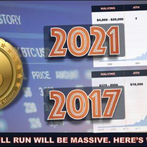 2017 CRYPTO & BITCOIN BULL RUN vs. 2021 BULL RUN. HERE'S WHERE WE'RE HEADED