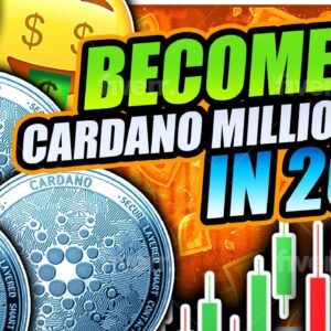 CARDANO MILLIONAIRE IN 2021 STARTING NOW!!!! Trading Strategy, News, Staking Price Prediction, Cover