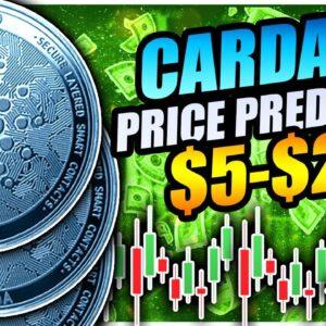 5 BULLISH SIGNALS FOR CARDANO!!! ($10 incoming)