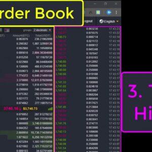 5 Elements Of Crypto Trading Interface (Binance Exchange)