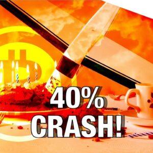 40% Bitcoin Price Crashes 📉 / Schnorr Signatures, The Next Big Upgrade The Bitcoin Core Code