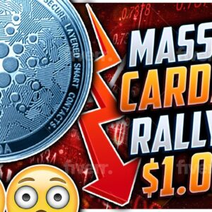 CARDANO $1.00 THIS MONTH!!!!! MASSIVE SUPPLY SHOCK TO $10X VS BITCOIN & ETHEREUM!!!!