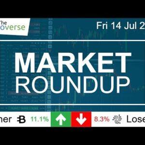 Market Roundup Hiatus / ChainCoin Jumps 122% / IOTA Down 8.3% / ByteCoin Up 11.6% (MR 14 Jul 2017)