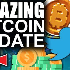 Amazing New Twitter Bitcoin Feature ( 2021 Bitcoin & Ethereum Roller Coaster)