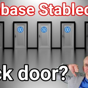 Back Door 🚪 Found In Coinbase Stablecoin, Use This Instead