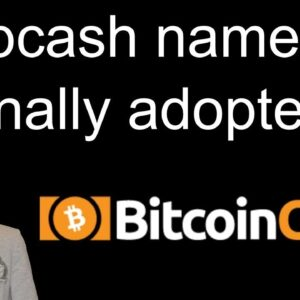 Bcash Name Finally Adopted / A Final Goodbye To Tether