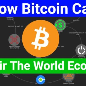 Before and After Bitcoin: The World Economy