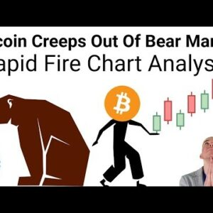 Bitcoin Creeps Out Of The Bear Market (Rapid Fire Chart Analysis)