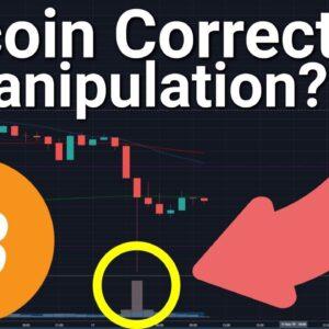 Bitcoin 📉 Correction = Manipulation?