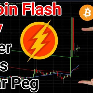 Bitcoin Flash Rally As Tether Loses It's Peg