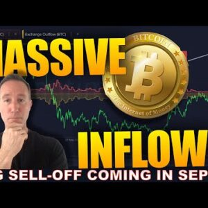 BITCOIN MAKES ONE OF THE BIGGEST INFLOWS EVER. SELLOFF COMING?