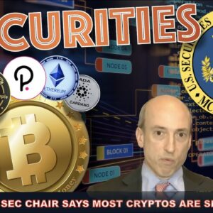 BREAKING: SEC CHAIR SAYS 'MOST' CRYPTOS ARE SECURITIES.