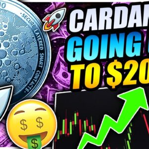 CARDANO BOTTOMED!! RALLY TO $20 IS STARTING!!!! BITCOIN GOING TO $90,000!!!