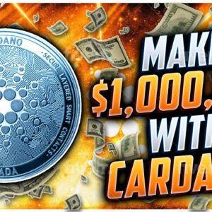 CARDANO BROKE KEY LEVEL!! NEXT TARGET $1,00!!! ETHEREUM ABOUT TO EXPLODE!!!