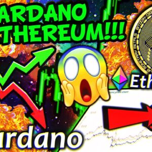 CARDANO CRASH TO $0.5 BEFORE PUMP TO $10!!!?? ETHEREUM PUMP TO $2,500 NEXT WEEK!!!?