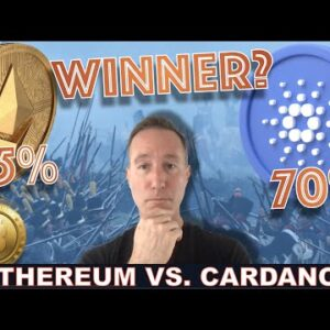 CARDANO CRUSHING ETH IN STAKED ASSETS. DOES IT MATTER?