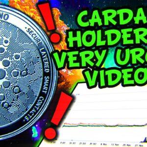 CARDANO FUD TO $1.40 OR GENERATIONAL BOTTOM!!???