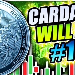 CARDANO GOING TO #1 AND SMASH BITCOIN!!!!? ADA TO $2.00 THIS MONTH!!!