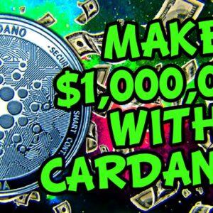 CARDANO MILLIONAIRE IN 2021!!!! PRICE PREDICTION, NEWS, TECHNICAL ANALYSIS