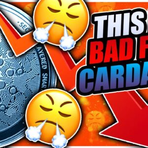 CARDANO PRICE IS IN A DANGEROUS AREA!! (analysis)