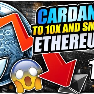 CARDANO TO 10X AND SMASH ETHEREUM!!! BITCOIN TO $1,000,000 THIS YEAR!!!