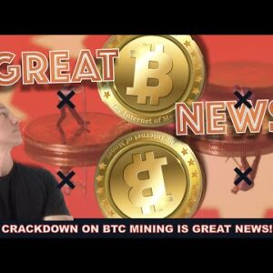 CHINESE BITCOIN MINING IS DONE. WHY THIS IS GREAT NEWS.