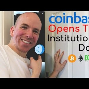 Coinbase Opens Institutional Door To Crypto
