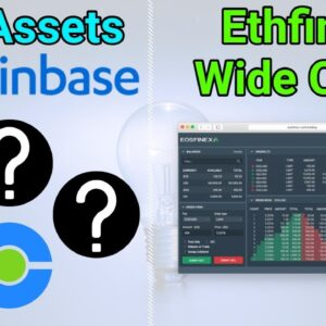 Coinbase Ready To List New Crypto / Ethfinex Now Open To All