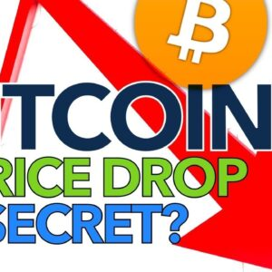 Could This Be The Secret Behind Bitcoin Price Drops? 📉