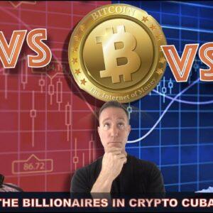CRYPTO BILLIONAIRE BATTLE: MUSK VS. CUBAN ON BITCOIN, ETH & CARDANO.