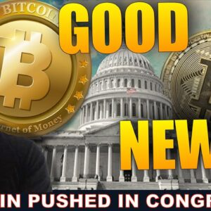 CRYPTO CHAMPIONS: CONGRESS SUPPORTS BITCOIN IN A BIG WAY.
