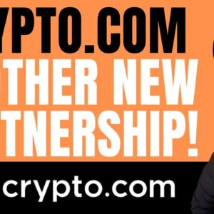 CRYPTO.COM - ANOTHER HUGE PARTNERSHIP DEAL! (CRO COIN - HUGE NEW DEAL!)