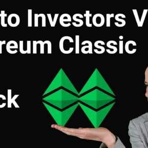 Crypto Investors View On Ethereum Classic 51% Attack Double Spend