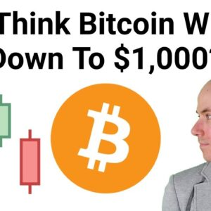 Do I Think Bitcoin Price Will Go Down To $1,000? + Ethereum Hardfork Update
