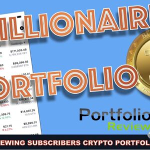 3 MILLION DOLLAR FUTURE BITCOIN & CRYPTO HOLDINGS. REVIEWING SUBSCRIBERS PORTFOLIOS.