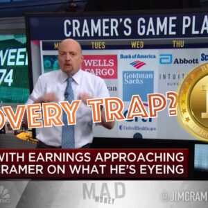 EARNINGS REPORT! Is TODAY the START of Bitcoin's RECOVERY Or Is It ALL a SHELL GAME?Jim Cramer TRUTH