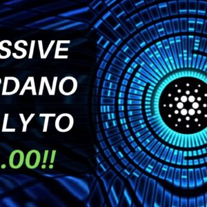 CARDANO BOTTOMED!!!!?? NEXT TARGET $1.00!!! Trading Strategy, News, Price Prediction VS Ethereum