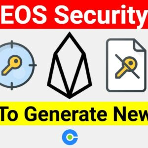 EOS: How To Generate New Keys For Security And Account Protection