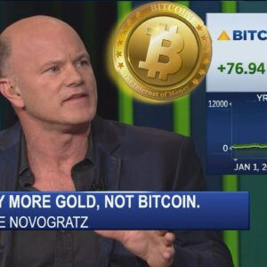 """MIKE NOVOGRATZ STATES: """"Buy More GOLD, NOT BITCOIN."""" Was Peter Schiff RIGHT? Brave Browser FORK."""