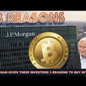 J.P. MORGAN WANTS IT'S INVESTORS TO BUY BITCOIN NOW! EXIT STRATEGY UPDATE: STABLECOINS & CRYPTO LOAN