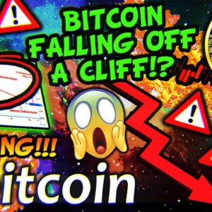 ETHEREUM & BITCOIN FALLING OFF A CLIFF!!!? 40% CORRECTION INCOMING!!!?