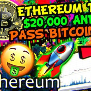 ETHEREUM BREAKING RECORDS BEFORE $20,000 IN 2021!!!! CAN BITCOIN KEEP UP!!!