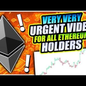 ETHEREUM CRASHING BELOW THIS CRITICAL LEVEL!!!! $600 ETH INCOMING!!