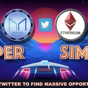 WE USED BILLIONS OF TWEETS TO FIND THE NEXT BIG CRYPTO (EVEN AS BITCOIN COOLS OFF). SUPER SIMPLE!