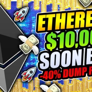 ETHEREUM $10,000 SOON BUT CRASH TO $1,400 FIRST!!?? BITCOIN RETESTING KEY LEVEL NOW!!