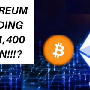 🚨BITCOIN BREAKS $20,000 RIGHT NOW!!! ETHEREUM GOING TO $1400 SOON!!!!