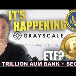 GRAYSCALE PARTNERS WITH NATIONS OLDEST BANK FOR BITCOIN ETF.